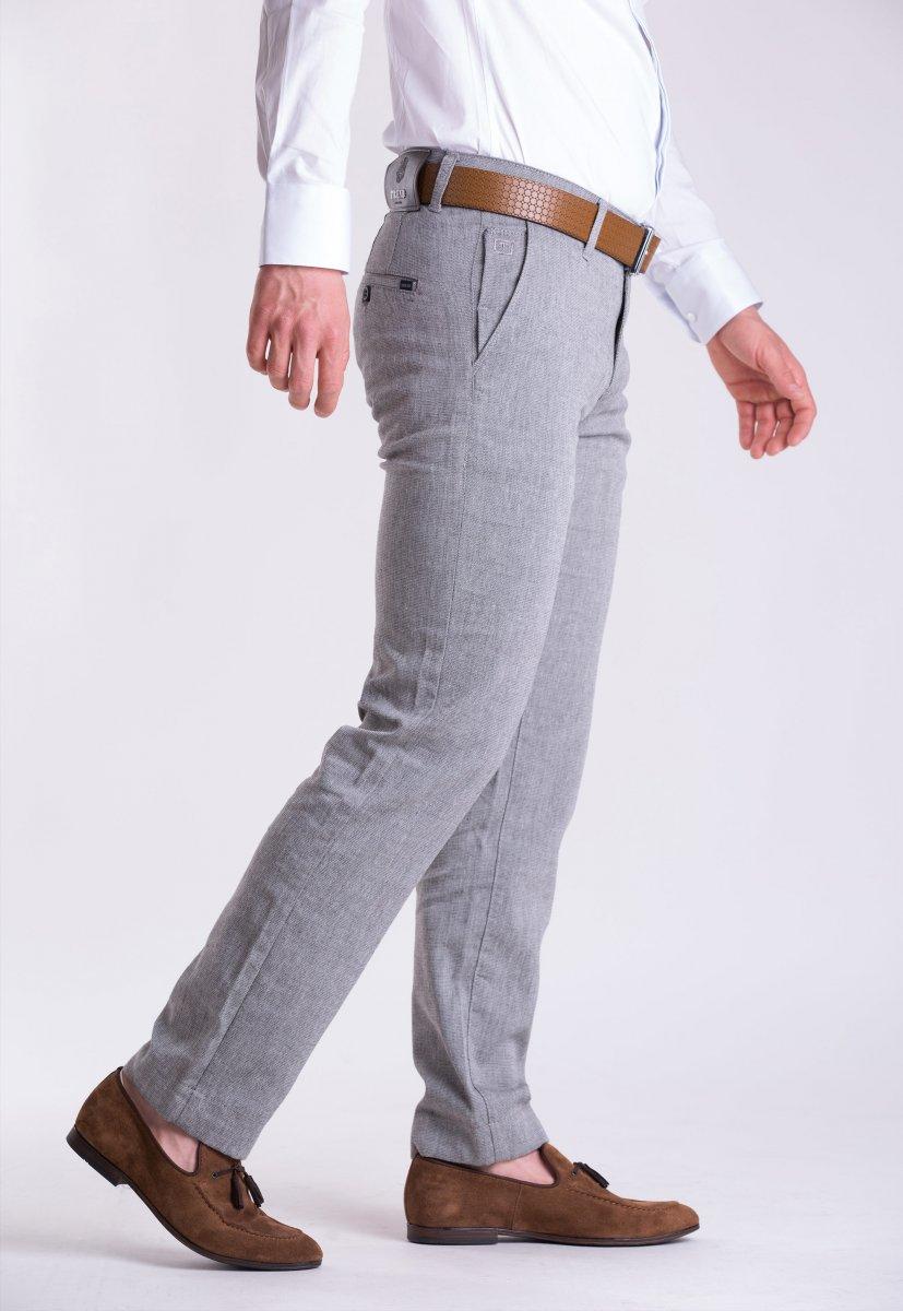 Брюки Trend Collection 12344 Светло-серый - Фото