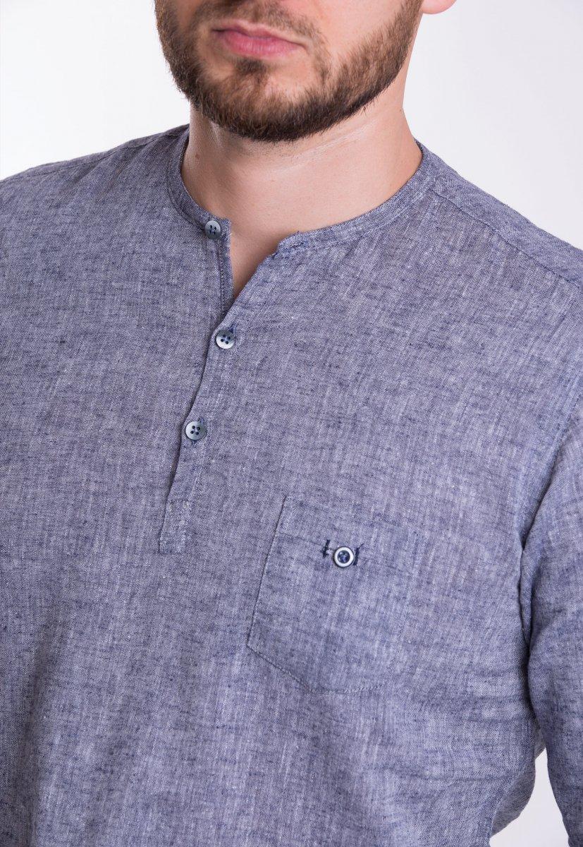 Рубашка Trend Collection U02-1077 Серый - Фото