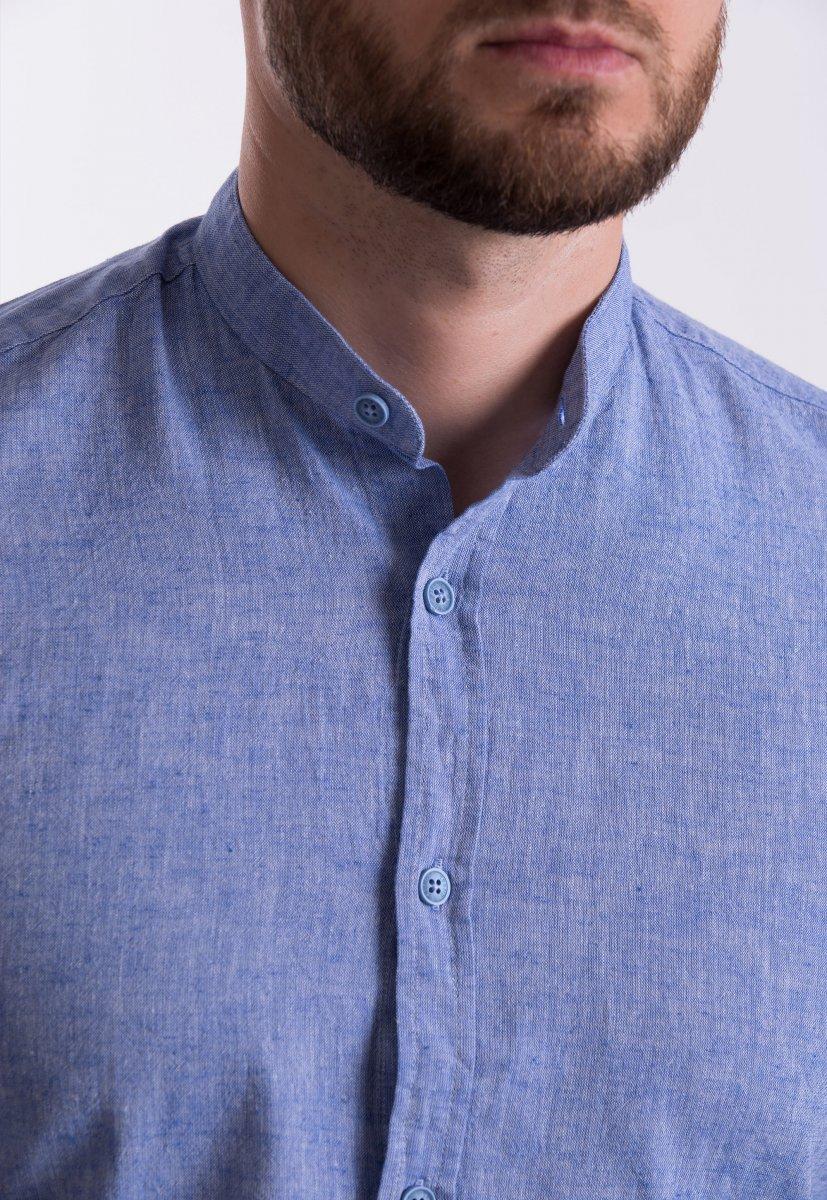 Рубашка Trend Collection U02-1046 Небесный - Фото