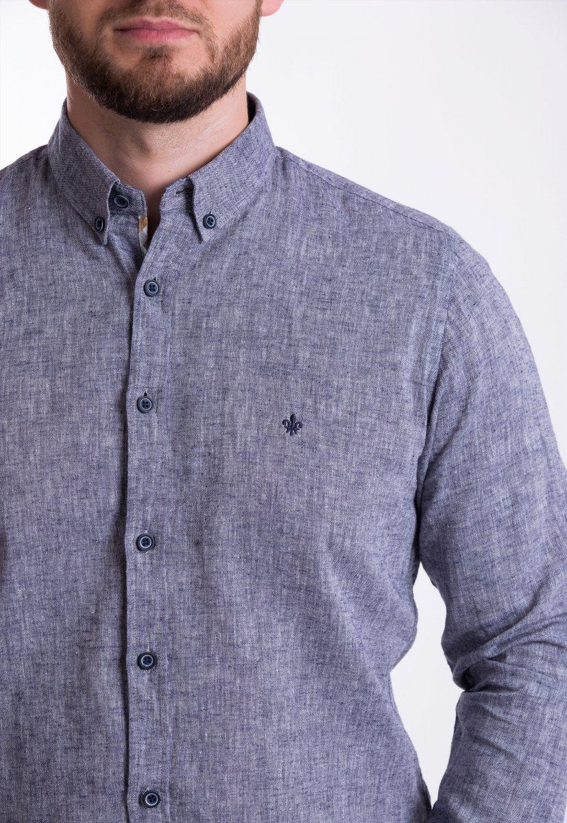 Рубашка Trend Collection 02-1096 Серый - Фото 1