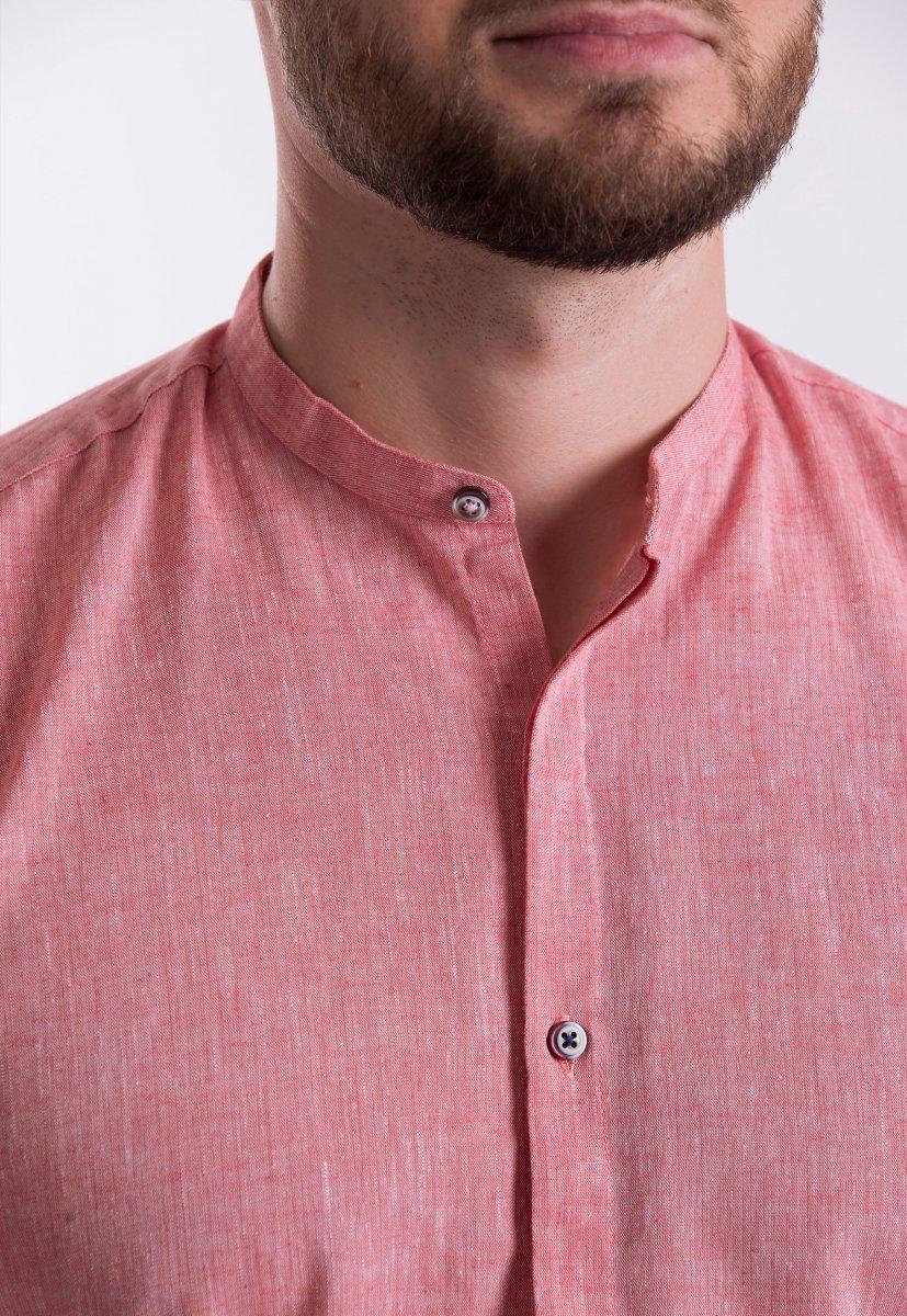 Рубашка Trend Collection U02-1105 Коралл - Фото