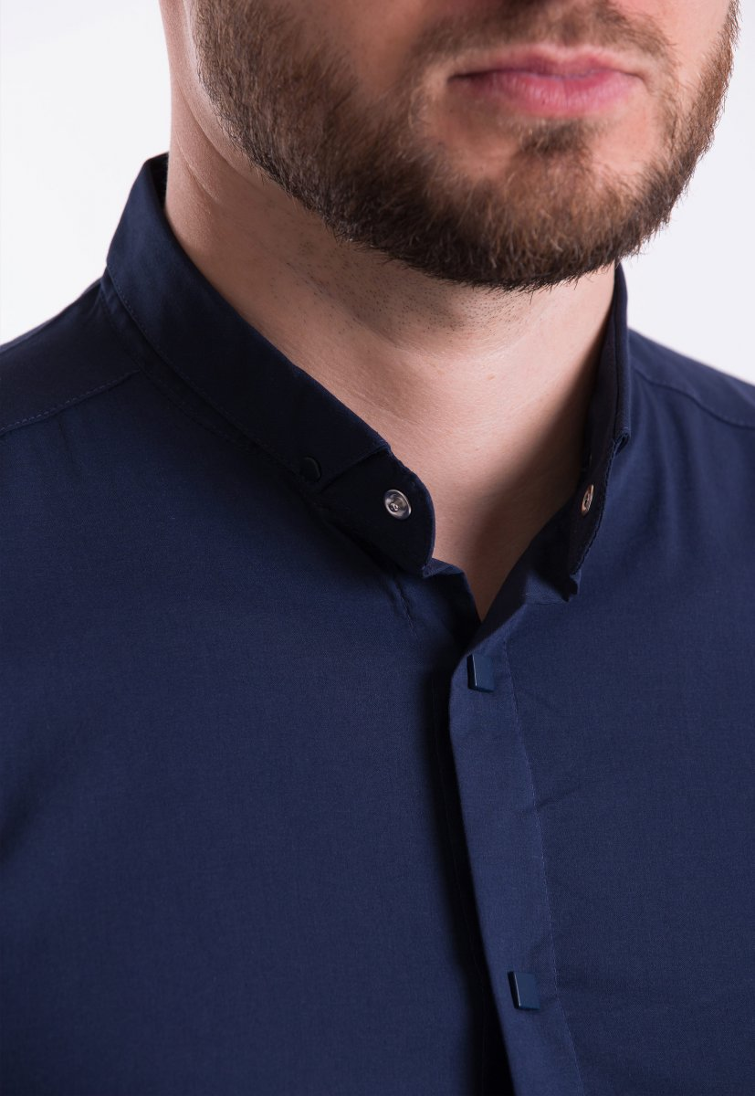 Рубашка Trend Collection 3172 Темно-синий - Фото
