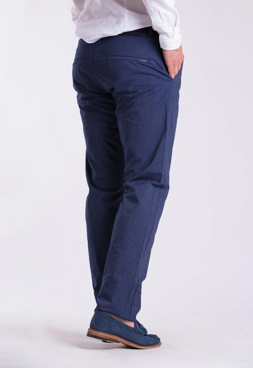 Брюки Trend Collection 12365 Синий + белая полоска (Laci) - Фото