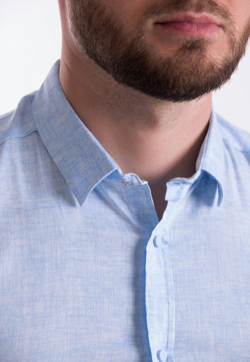 Рубашка Trend-Collection 18478 Небесный - Фото