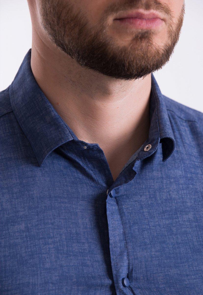 Рубашка Trend-Collection 18478 Синий джинс - Фото 1