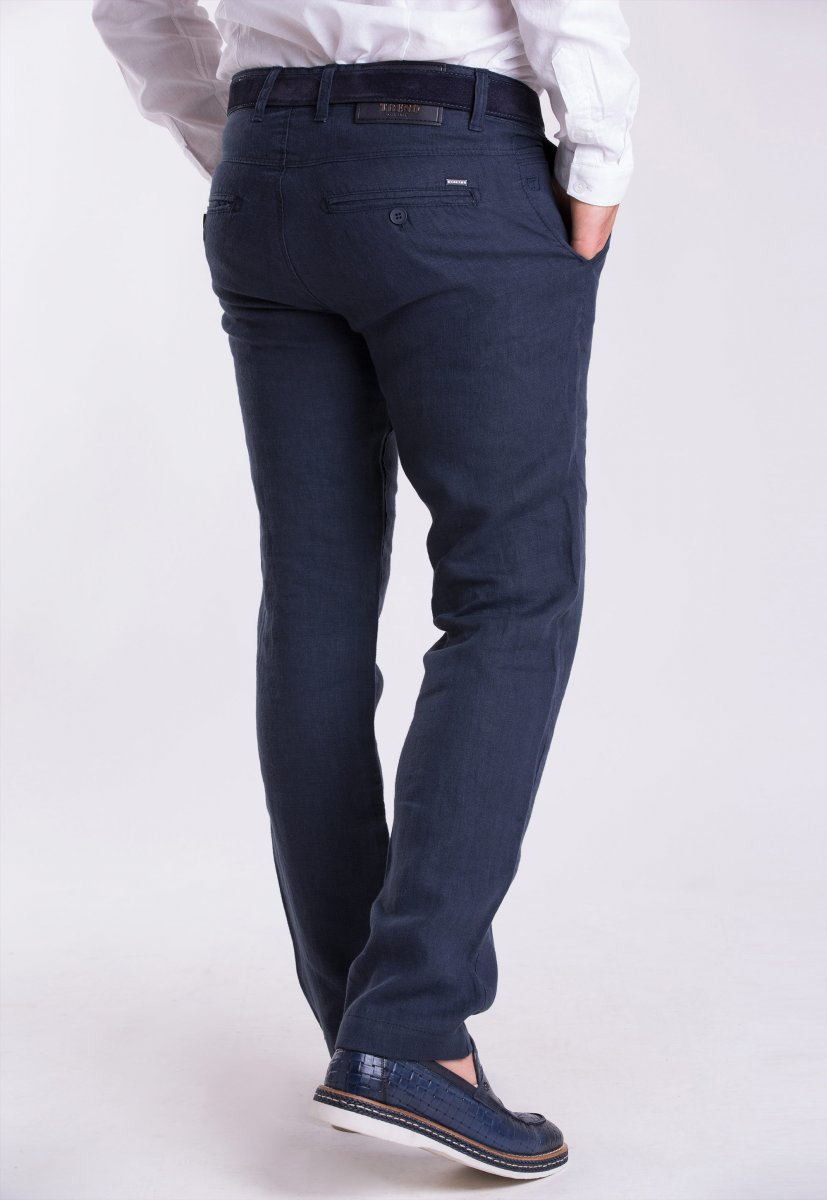Брюки Trend-Collection 12346 Темно-синий - Фото 1