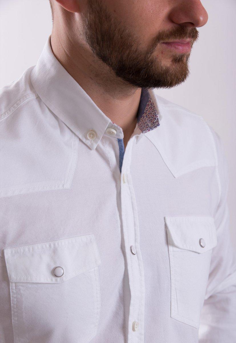 Рубашка TREND COLLECTION 1090 Белый - Фото