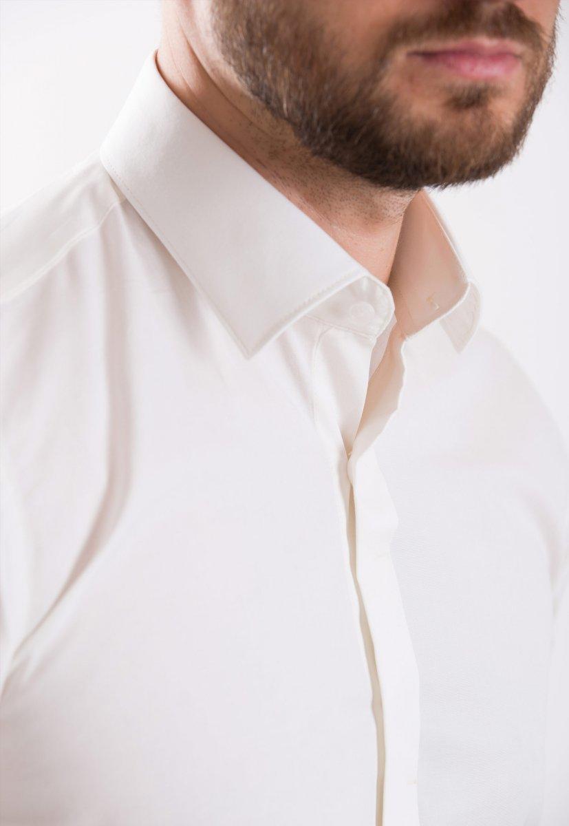 Рубашка Trend Collection 02-308 Айвори - Фото