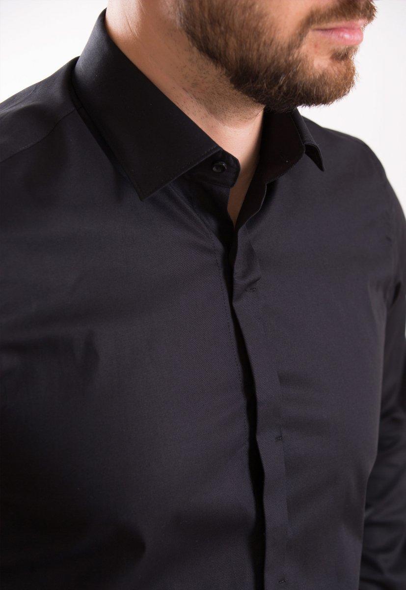 Рубашка Trend Collection 02-308 Черный - Фото