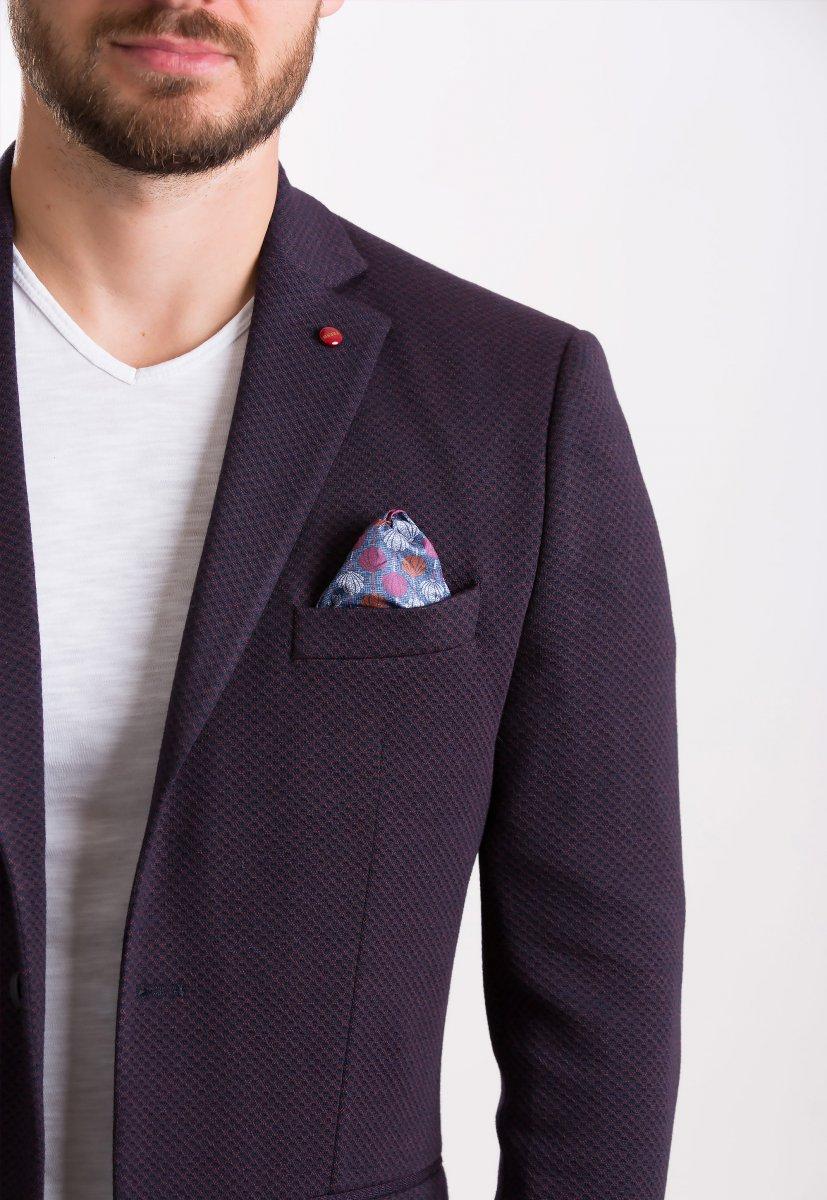 Пиджак Trend Collection 707 Бордо+синий - Фото