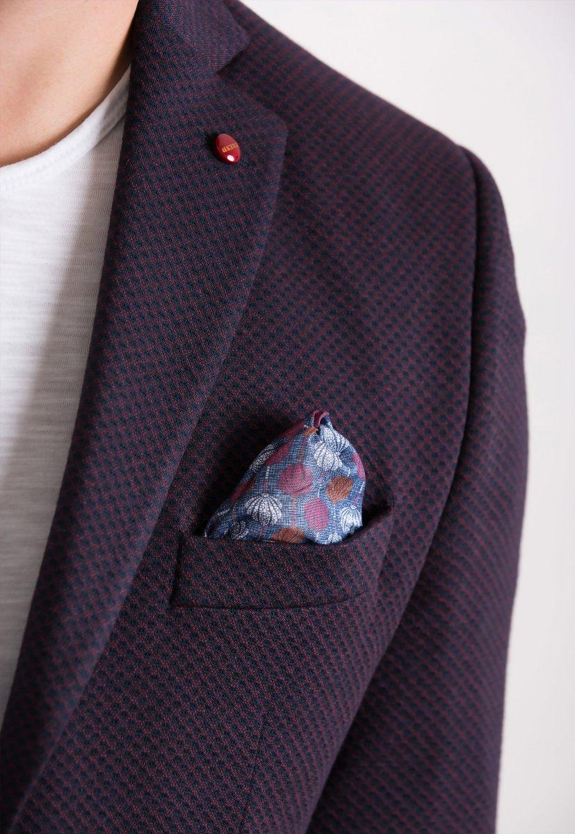 Пиджак Trend Collection 707 Бордо+синий - Фото 1