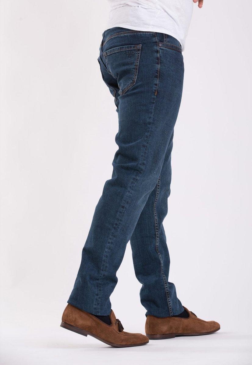Джинсы Trend Collection 12439 Сине-зеленый - Фото