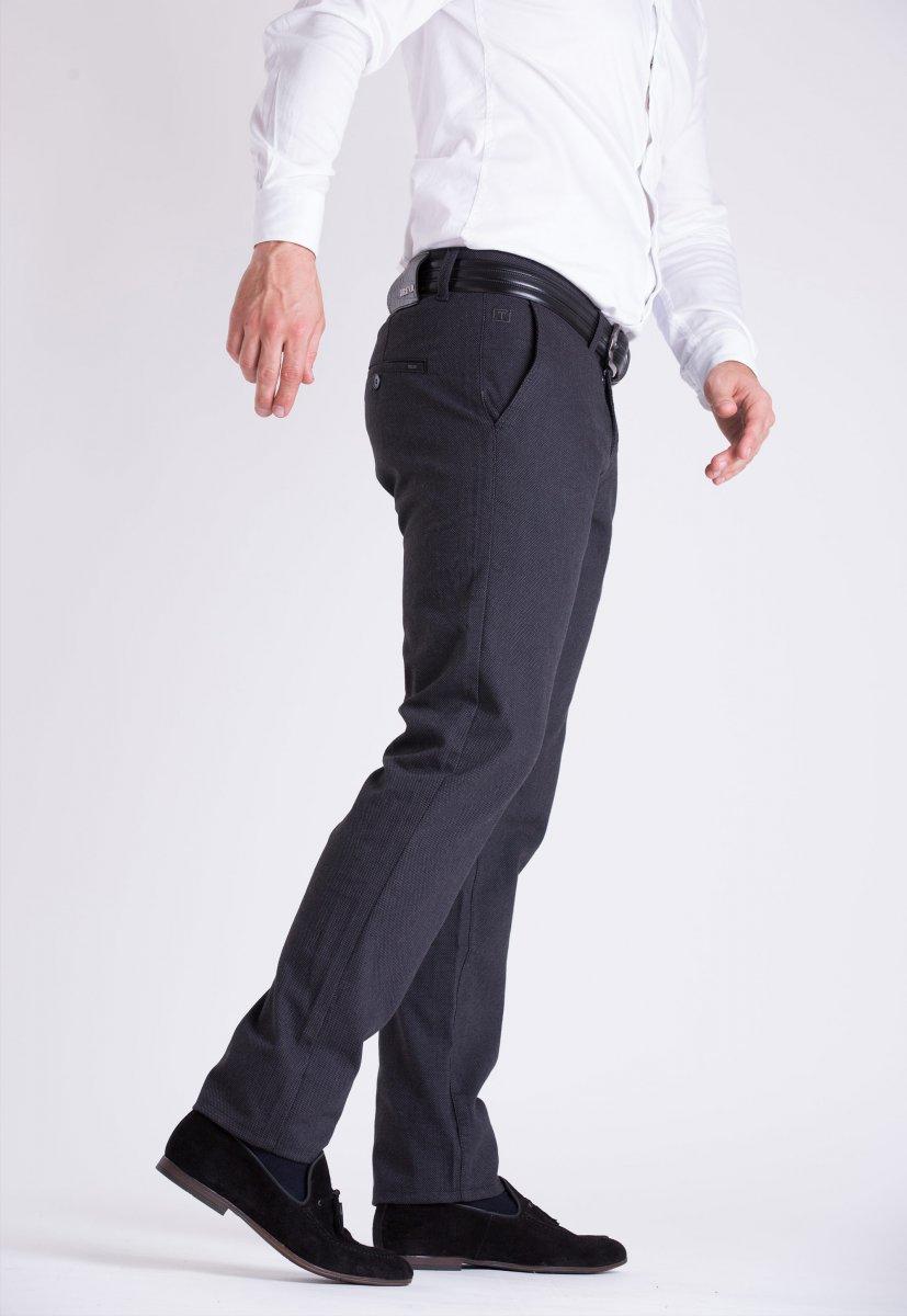 Брюки Trend Collection 12472 Черно-серый (SIYAH) - Фото 1
