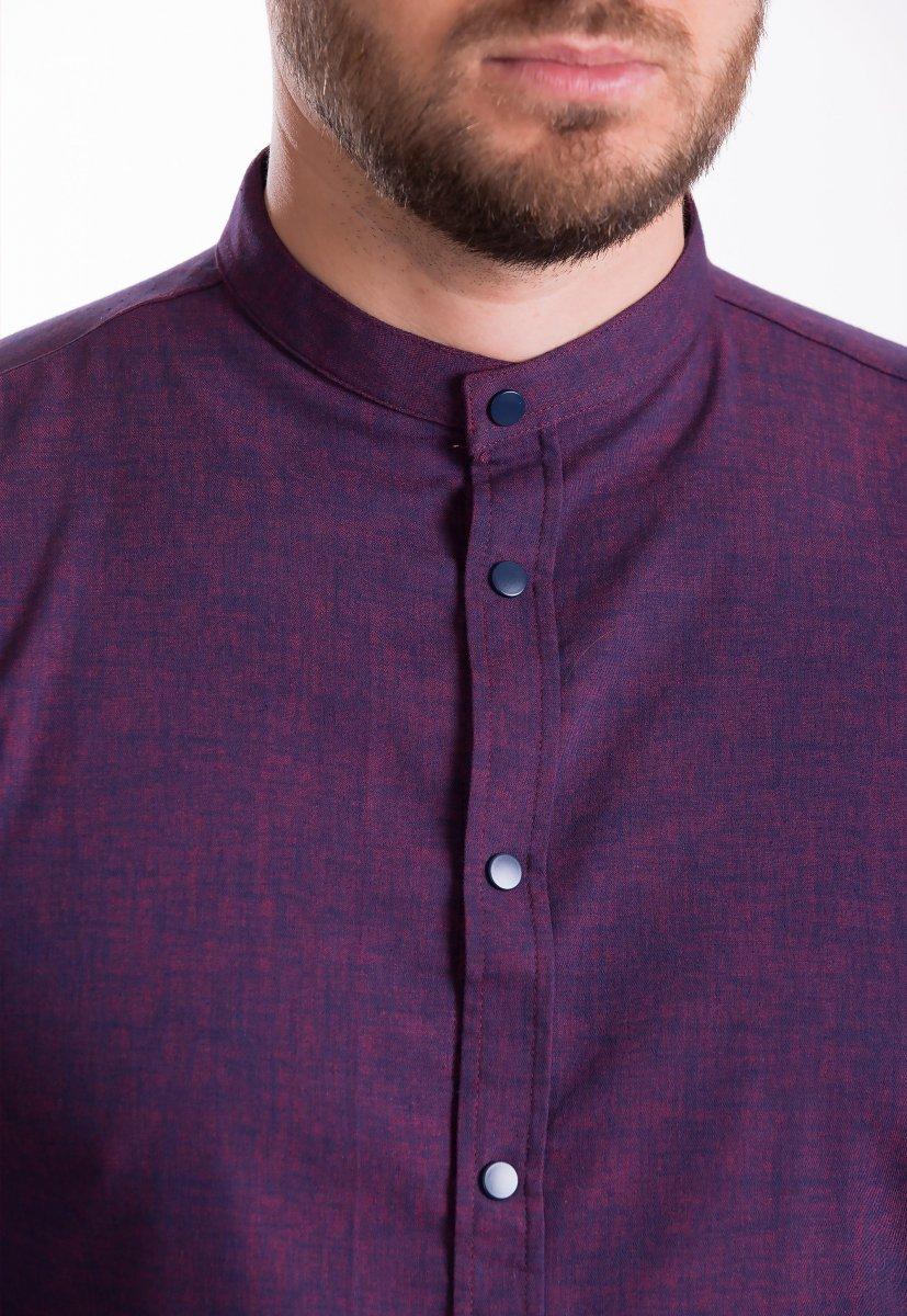 Рубашка Trend Collection 19047 Бордовый - Фото
