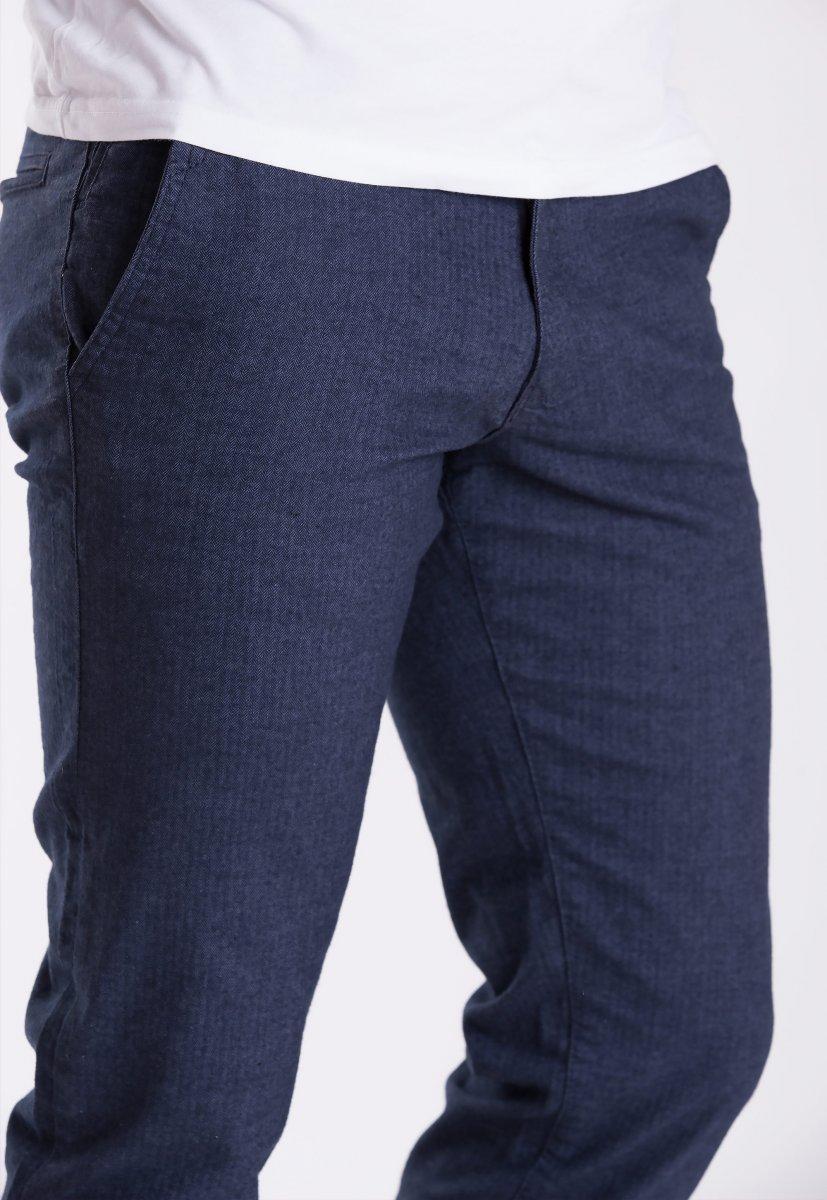 Брюки Trend Collection 12486 Синий+елка(LACI) - Фото