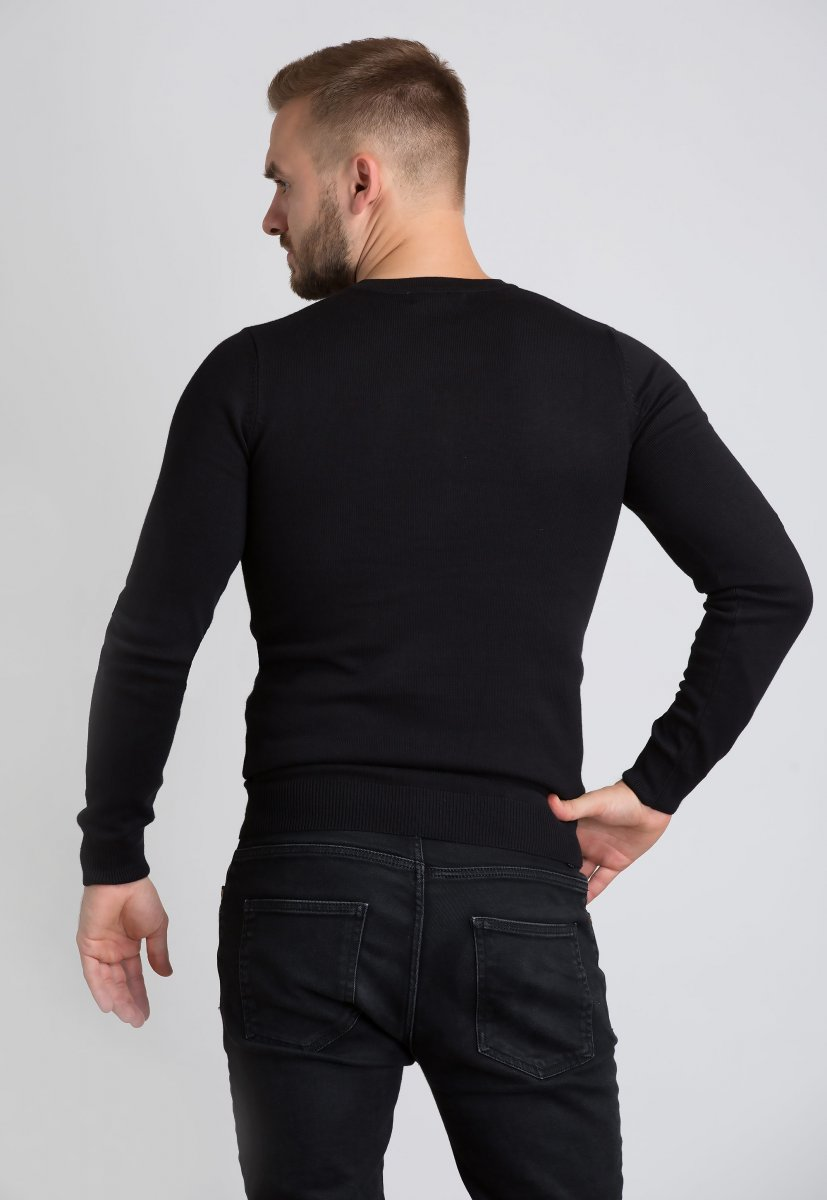 Свитер Trend Collection 1621 Черный - Фото
