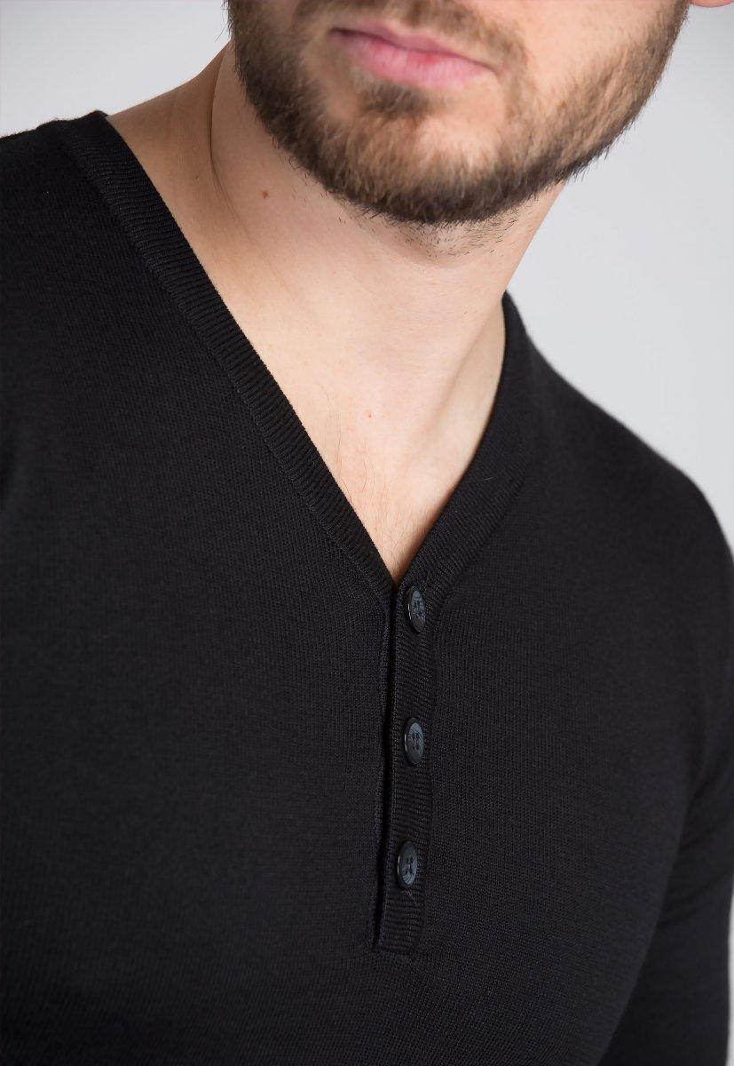 Свитер Trend Collection 1621 Черный - Фото 2