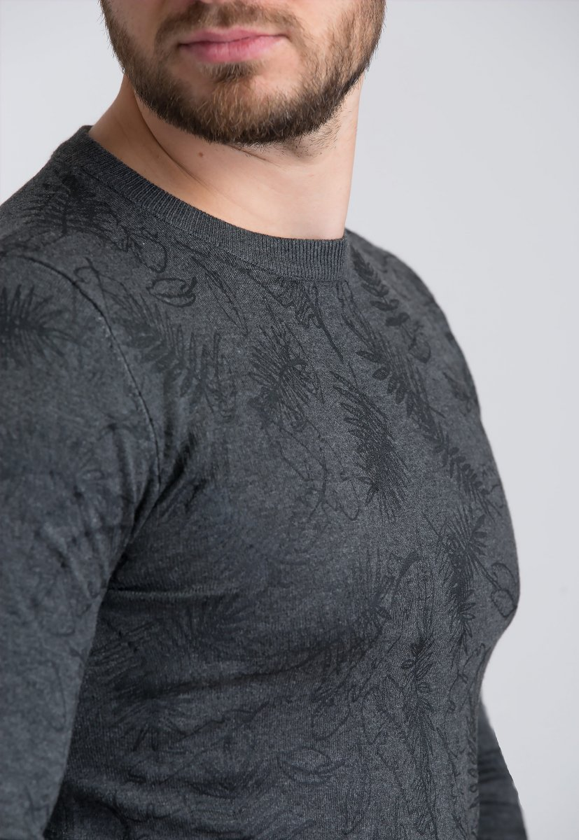 Свитер Trend Collection 99033 Темно-серый - Фото