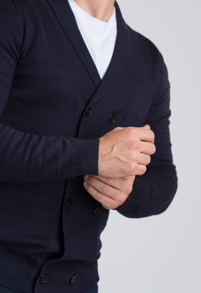 Кардиган Trend Collection 682 Темно-синий - Фото