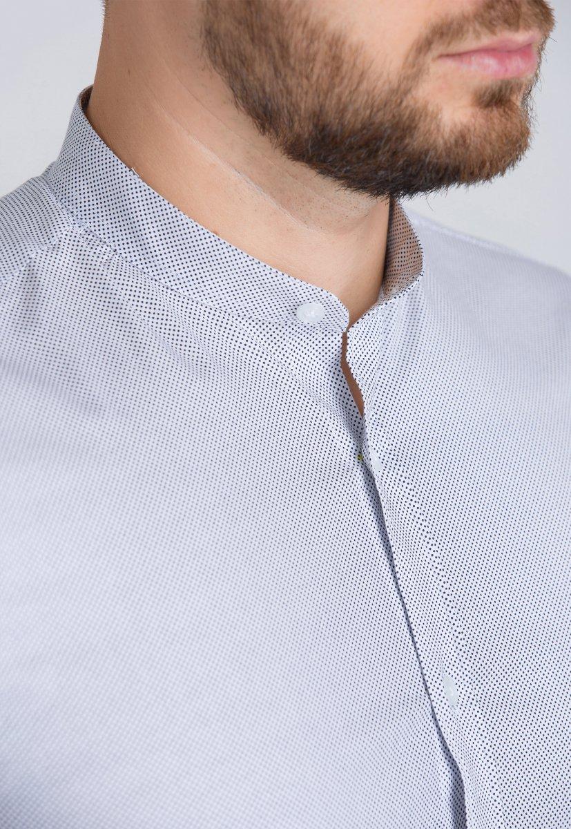 Рубашка Trend Collection U02-1047-20 Белый+точка - Фото