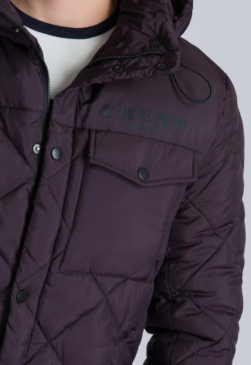 Куртка Trend Collection 19-18 Слива - Фото 2
