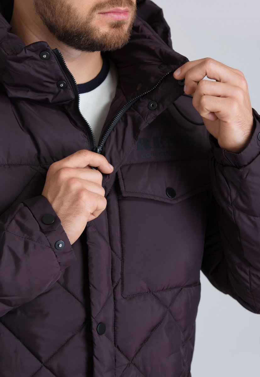 Куртка Trend Collection 19-18 Слива - Фото 3