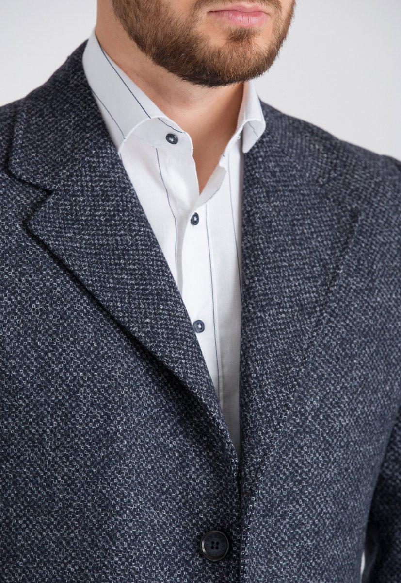 Пальто Trend Collection 553 Серый - Фото 1