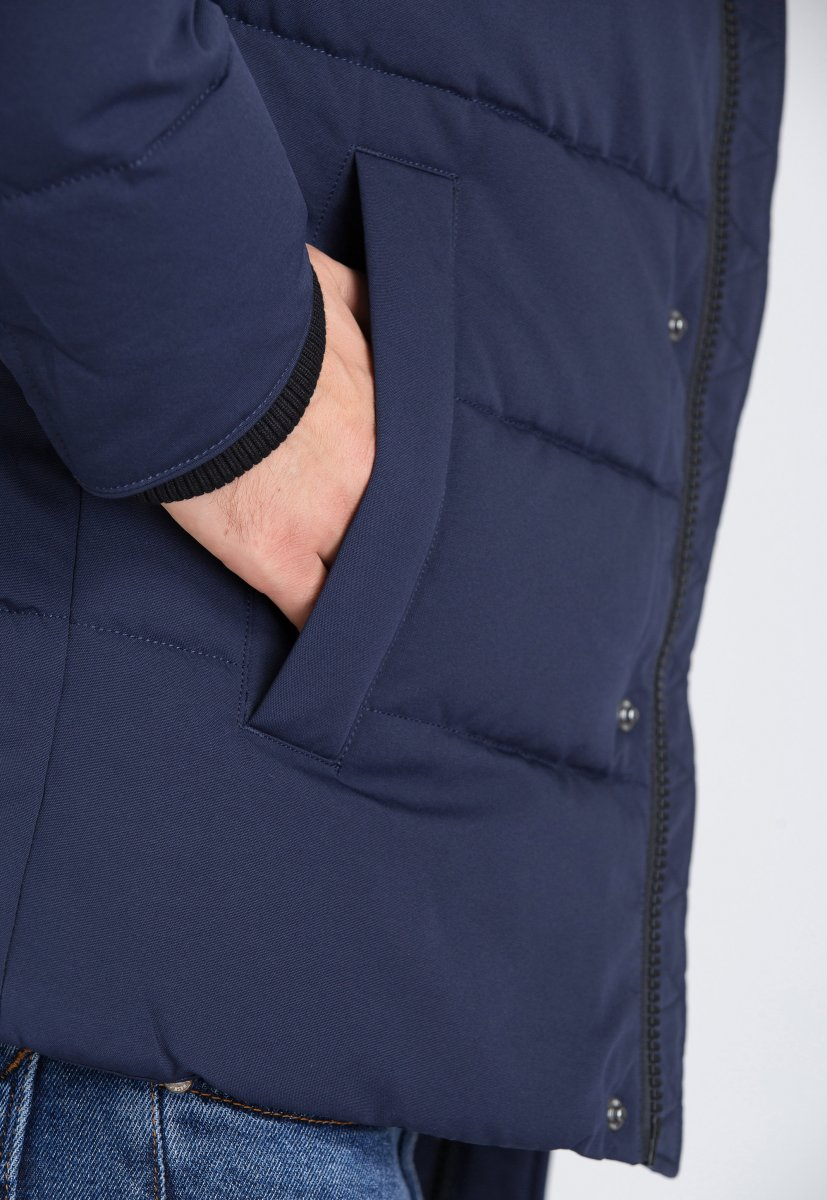 Куртка Trend Collection 9W08 Синий - Фото 3