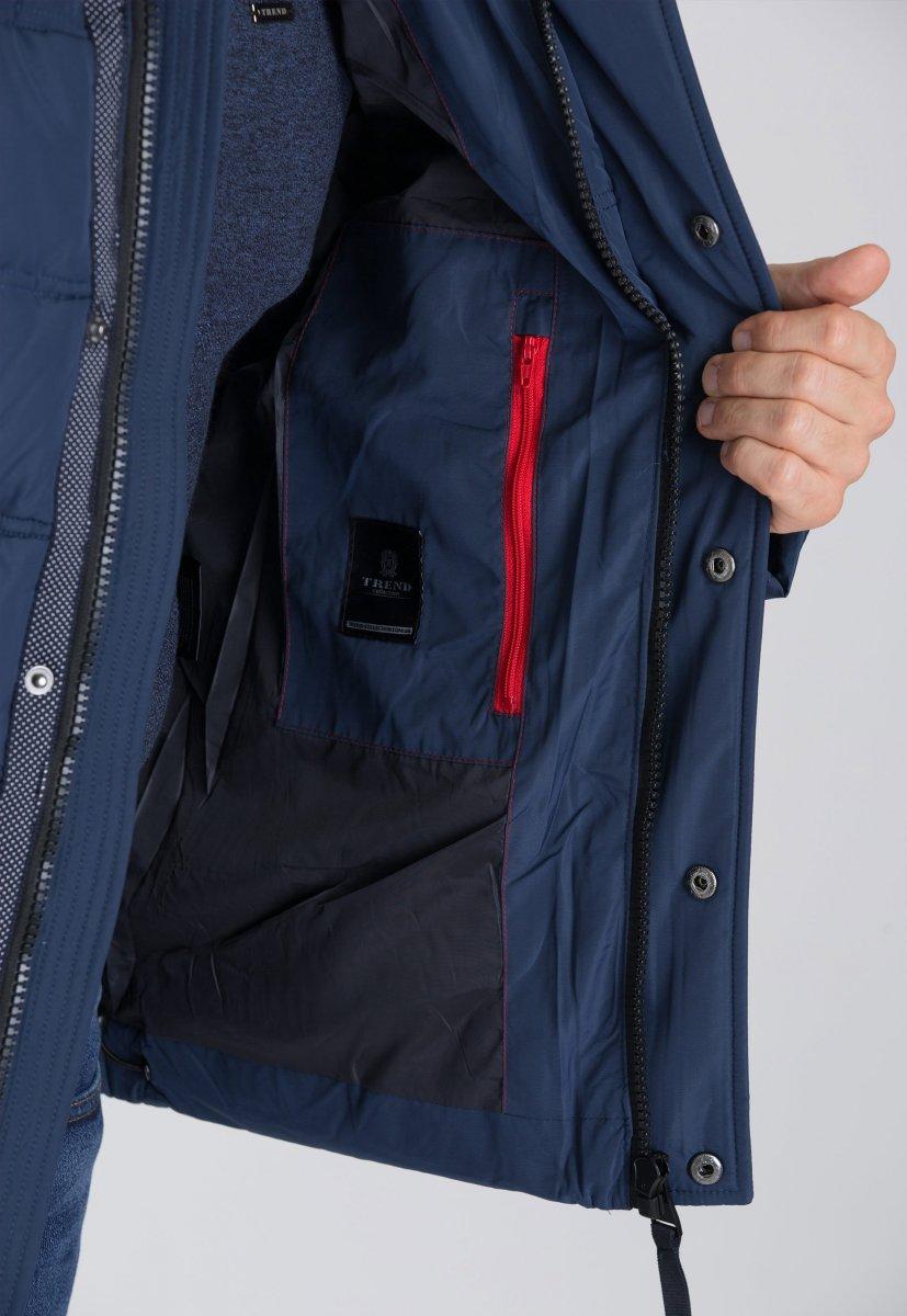 Куртка Trend Collection 9W26 Синий - Фото 1