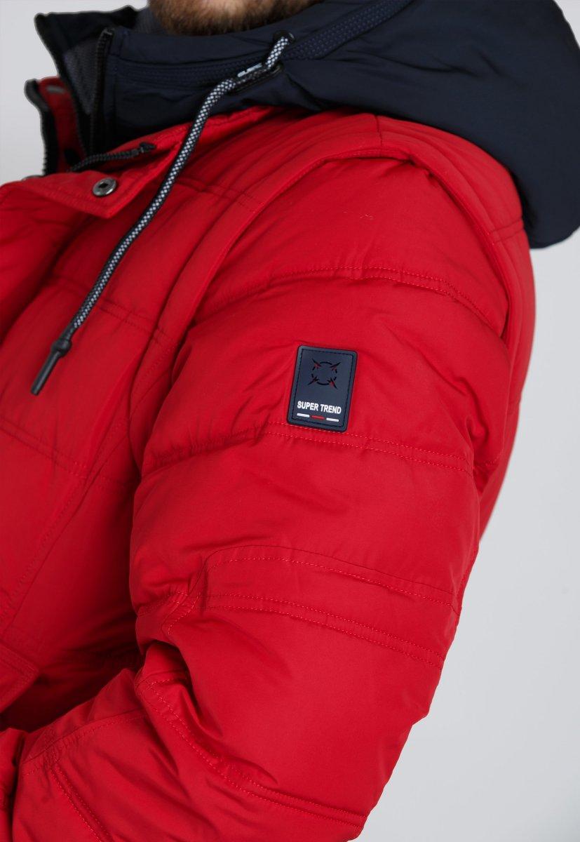 Куртка Trend Collection 9W10 Красный - Фото 3