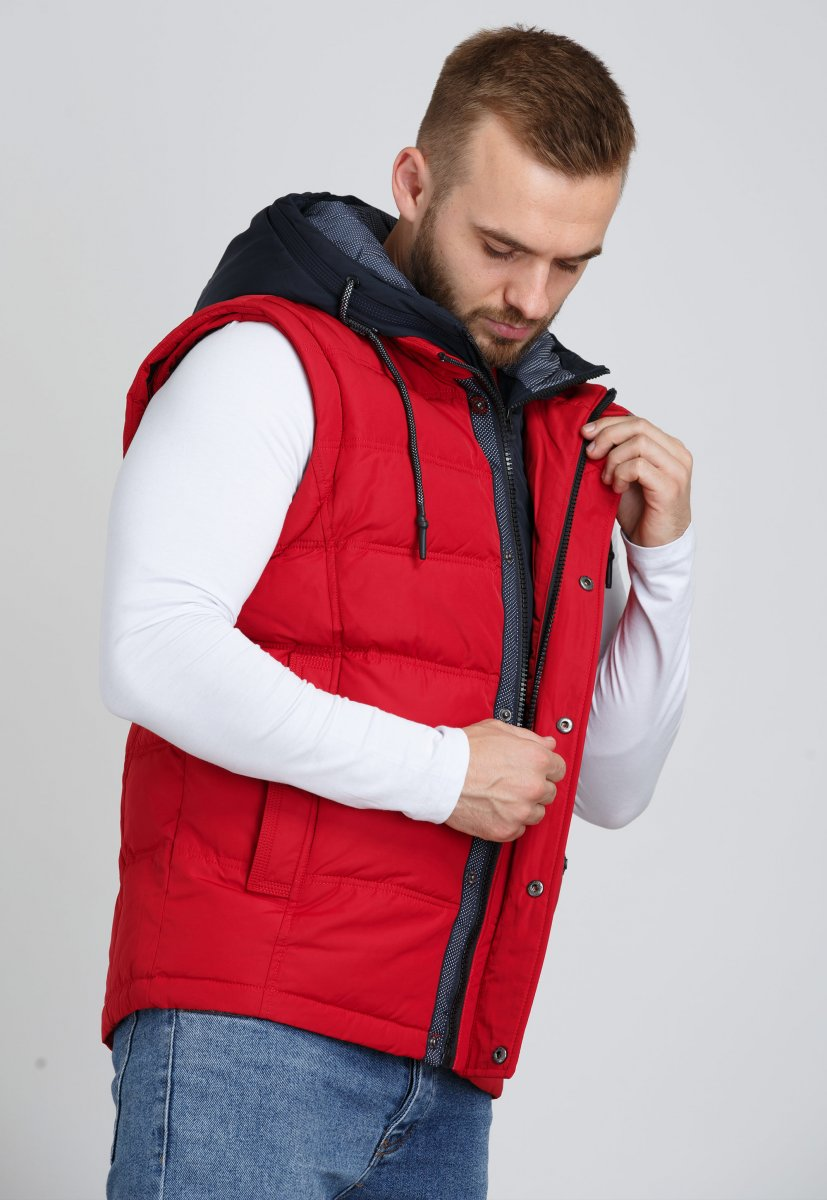 Куртка Trend Collection 9W10 Красный - Фото 5