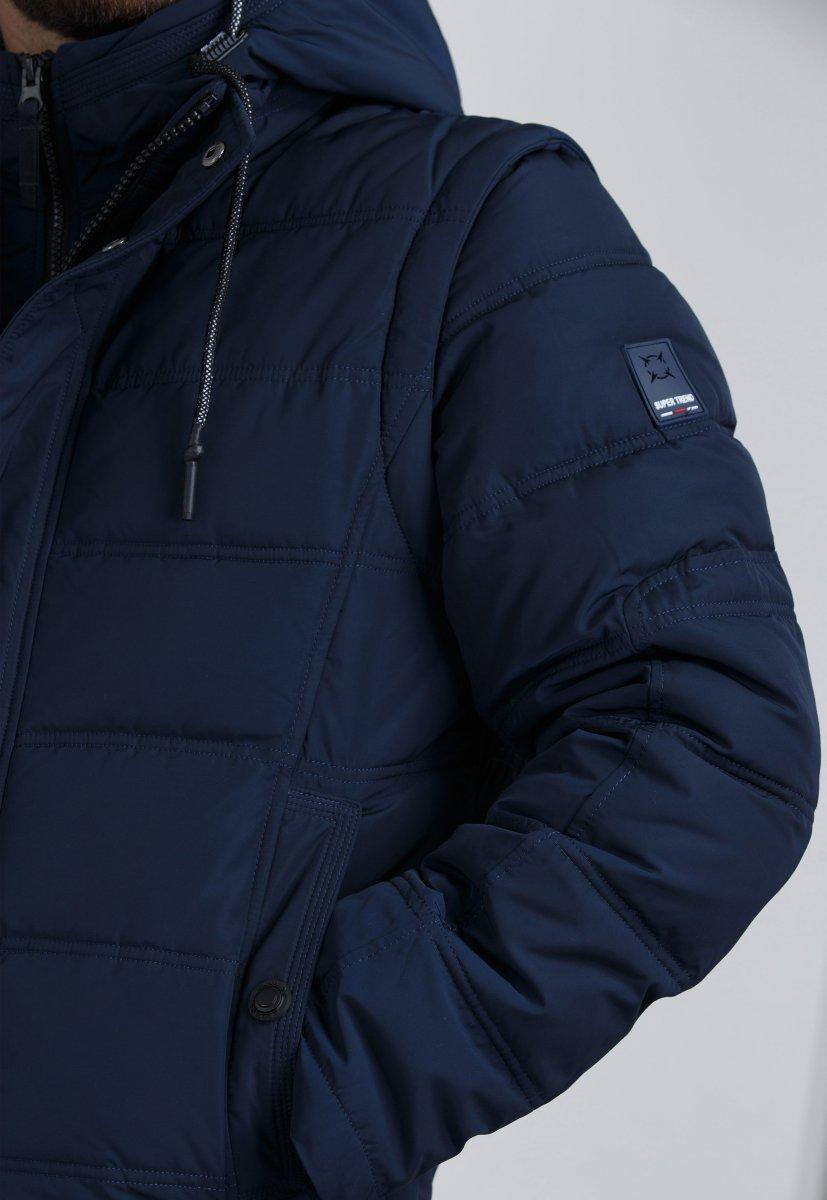 Куртка Trend Collection 9W10 Синий - Фото 3