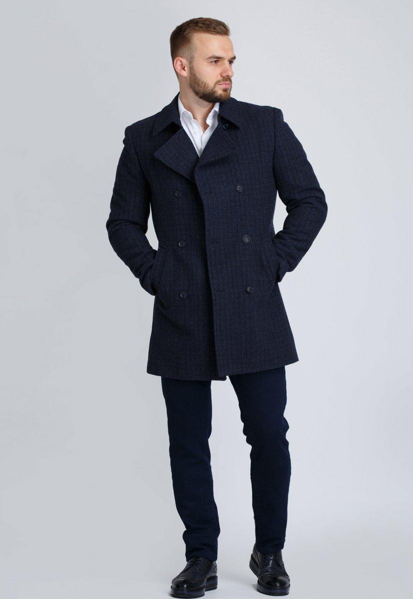 Пальто Trend Collection 505 Темно-синий - Фото