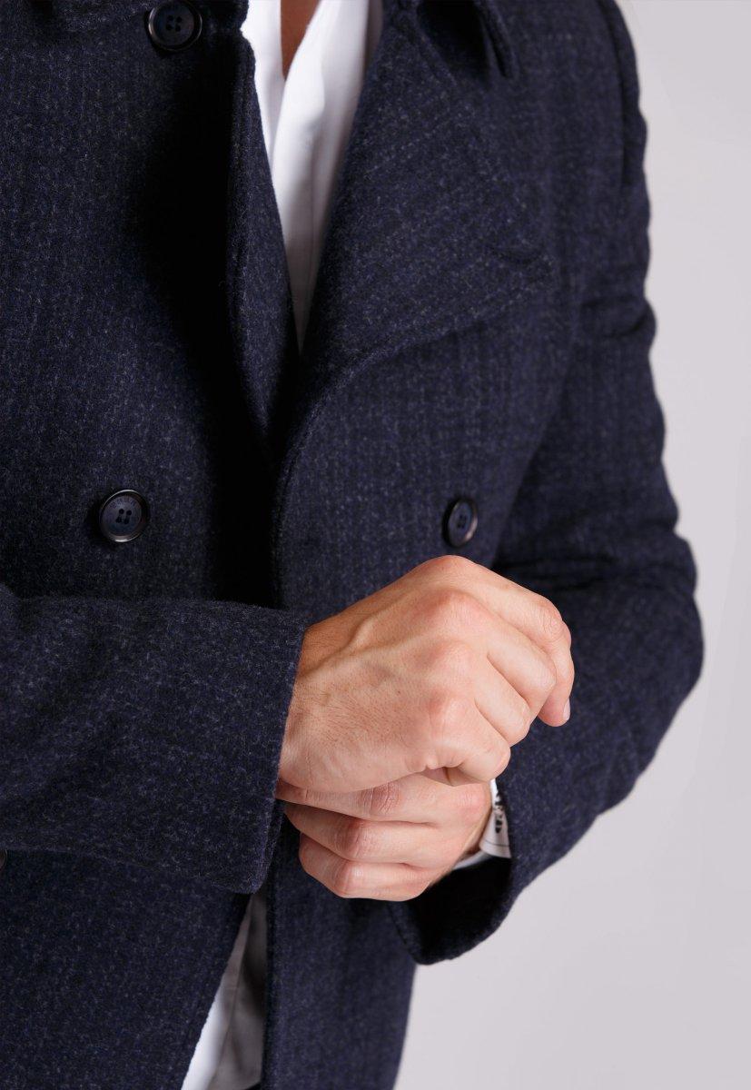 Пальто Trend Collection 505 Темно-синий - Фото 1