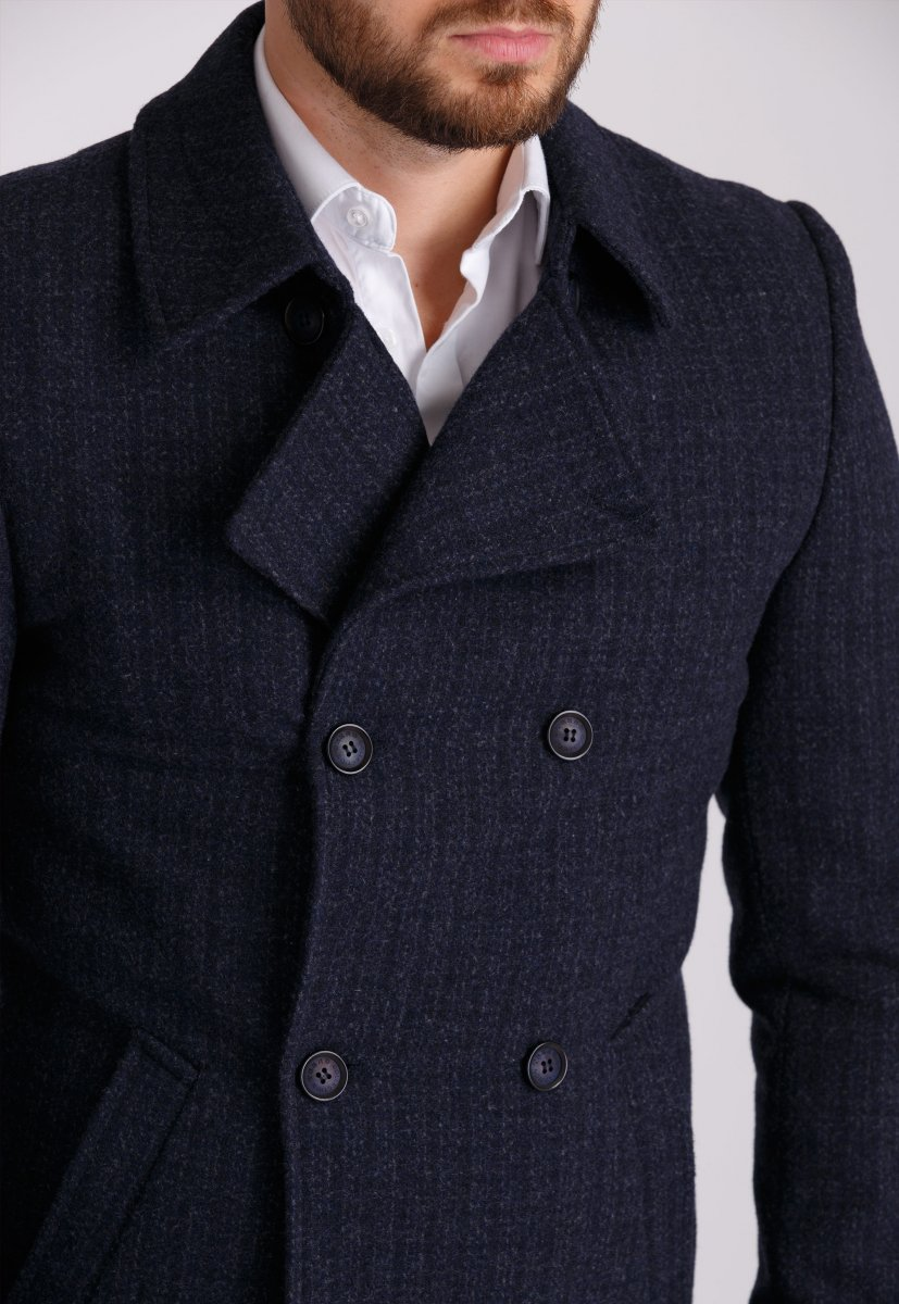 Пальто Trend Collection 505 Темно-синий - Фото 2