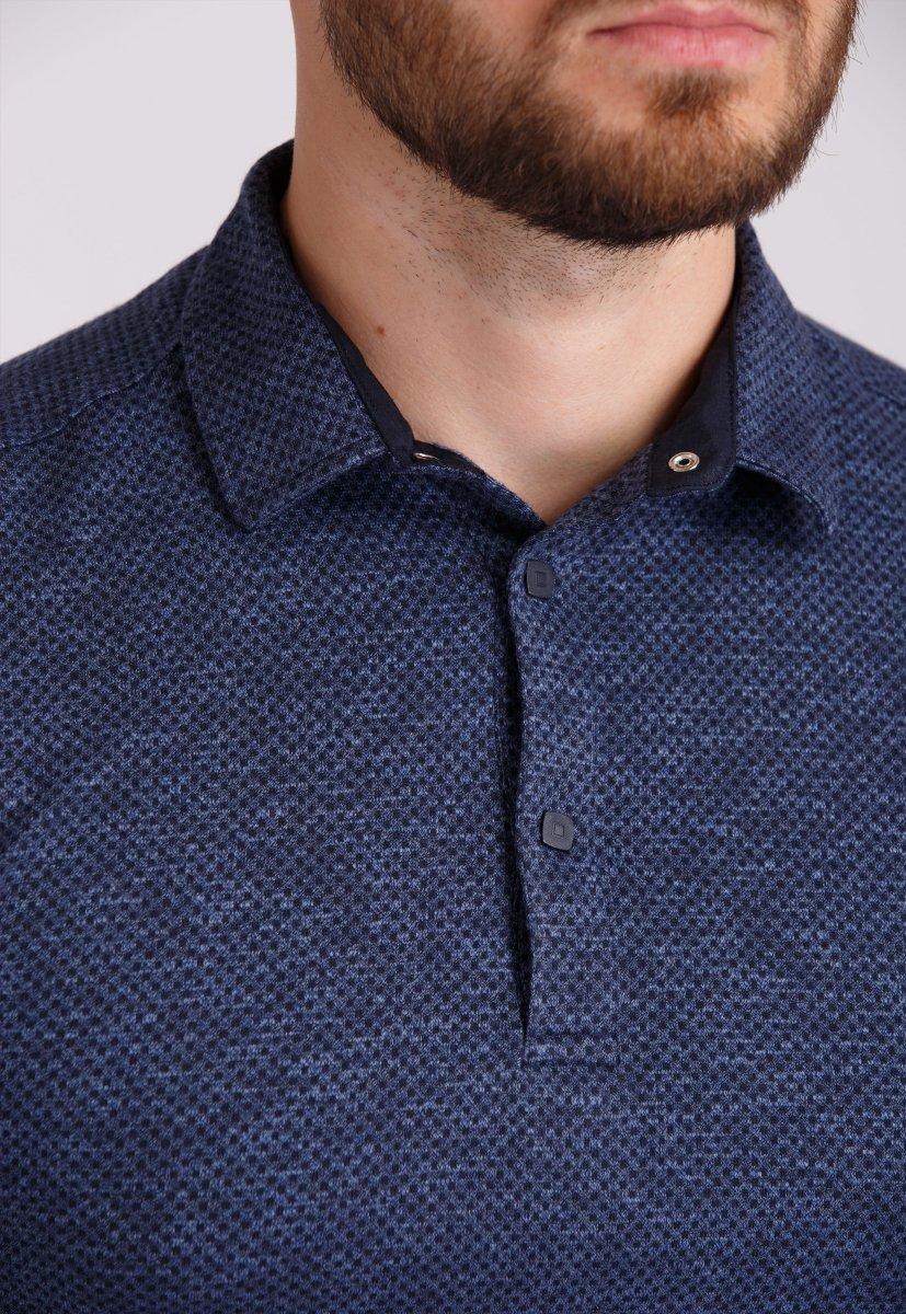 Джемпер Trend Collection 0002 Синий+синяя точка - Фото