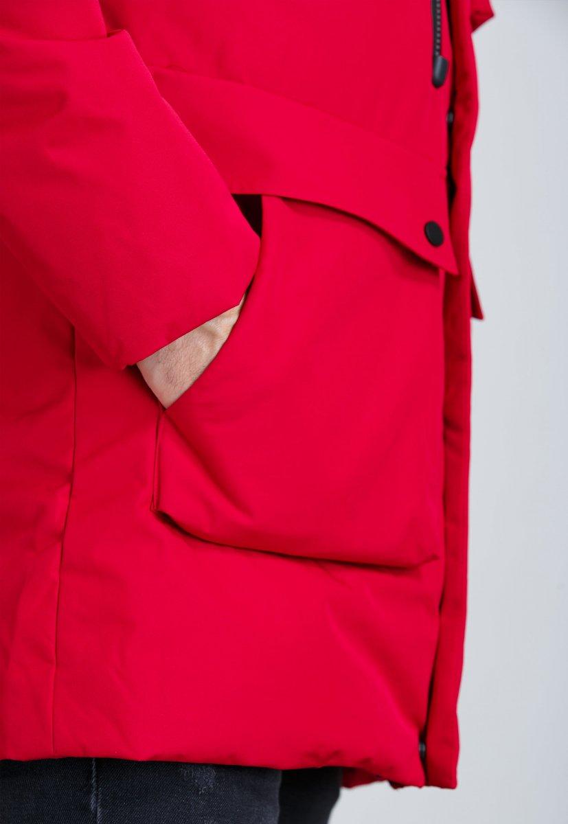 Куртка Trend Collection 19-16 Красный - Фото 4