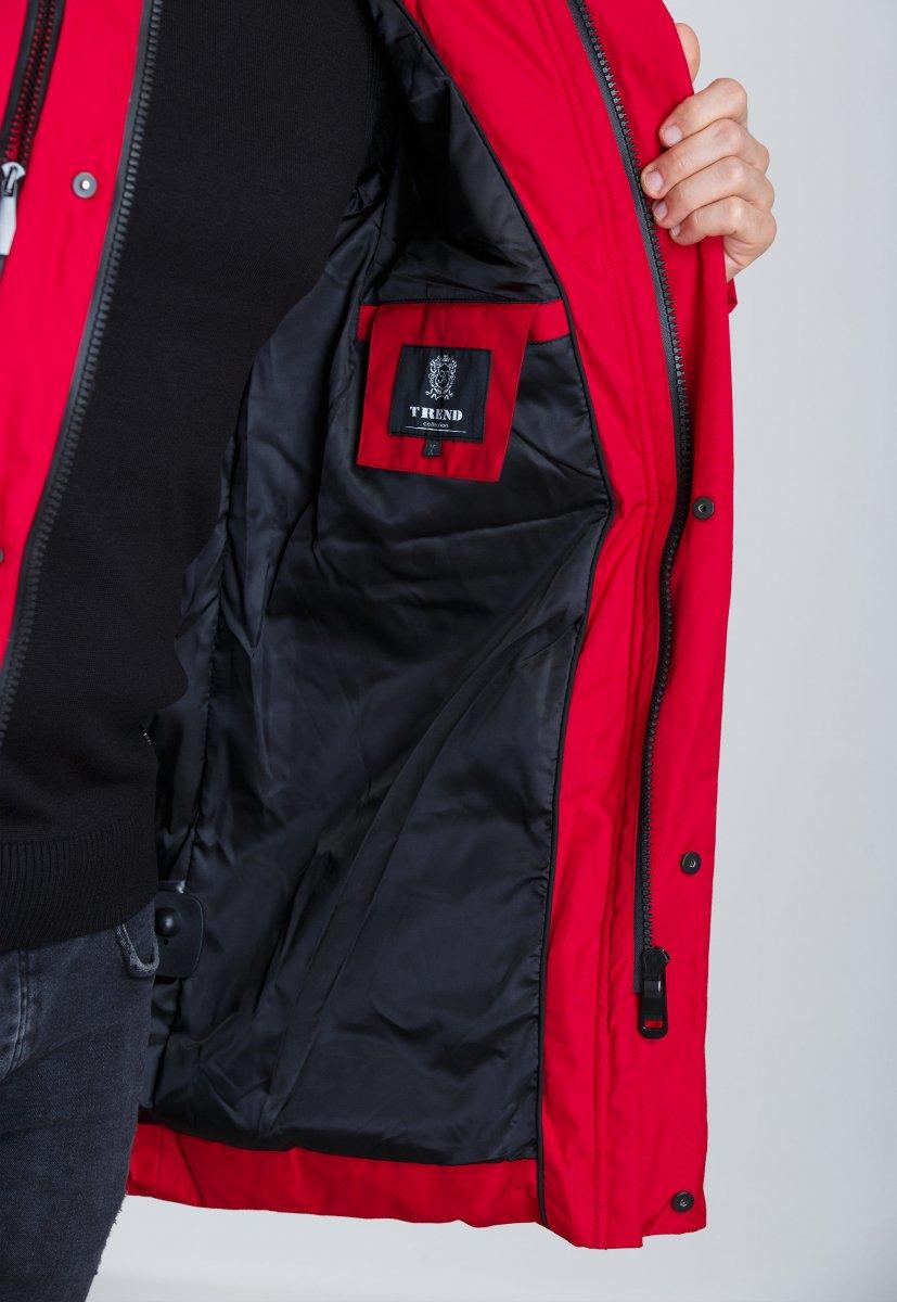 Куртка Trend Collection 19-16 Красный - Фото 5