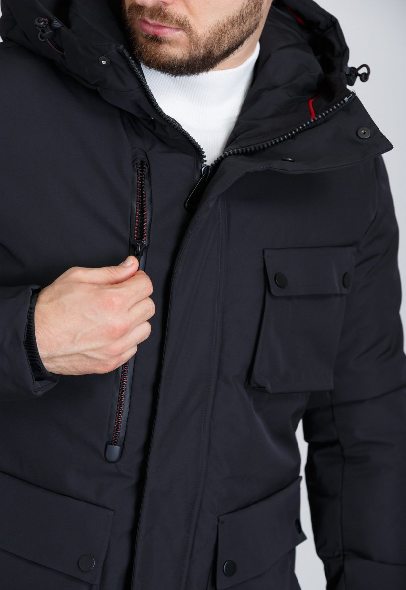 Куртка Trend Collection 19-16 Черный - Фото 3