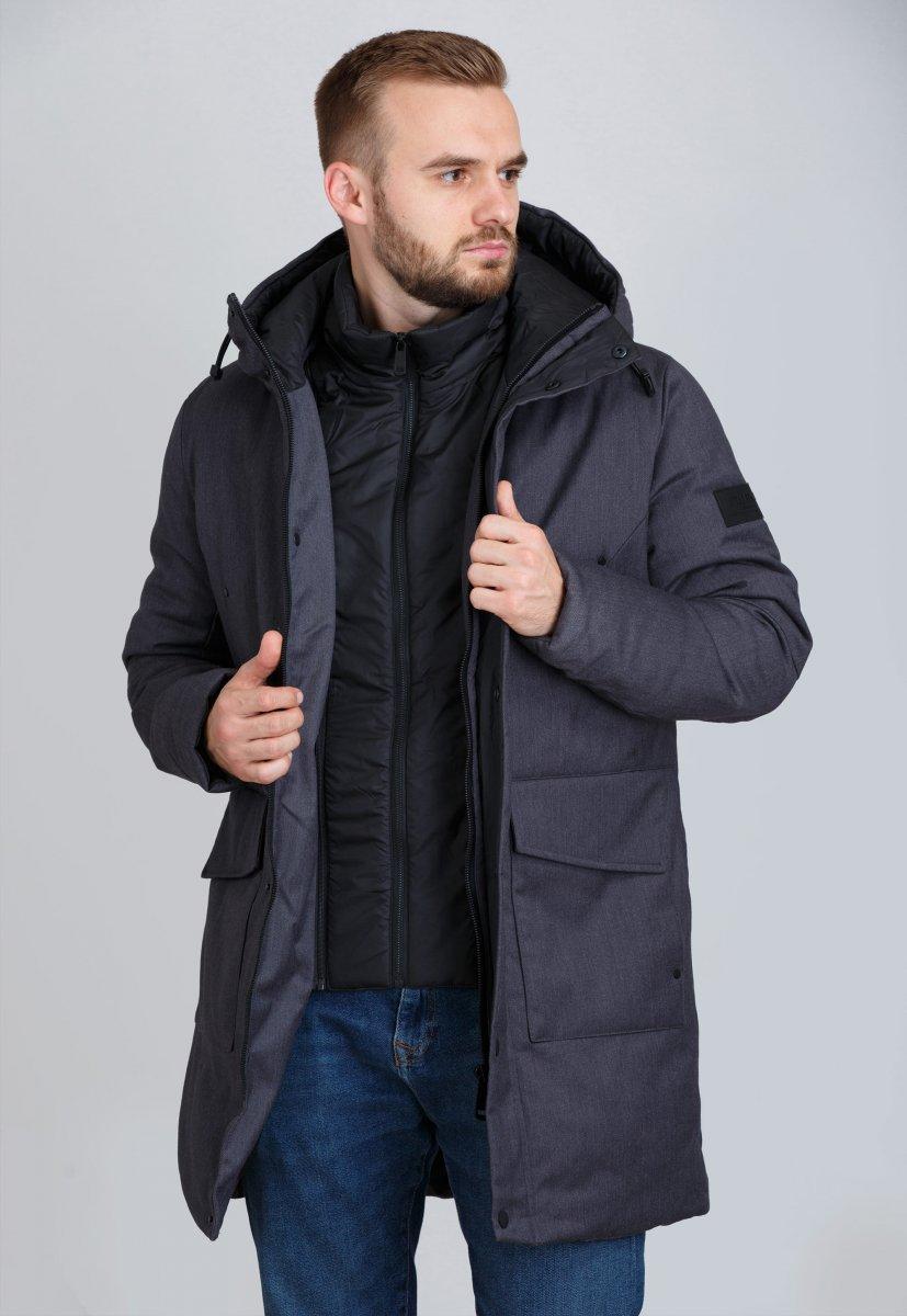 Куртка Trend Collection 19-20 Серый - Фото 2