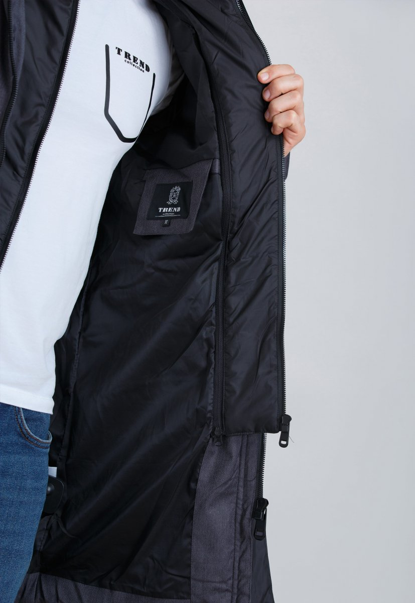 Куртка Trend Collection 19-20 Серый - Фото 4