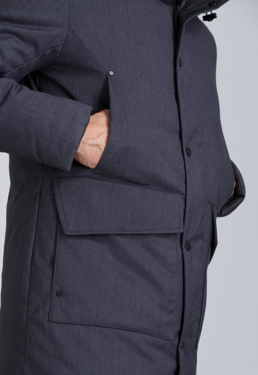 Куртка Trend Collection 19-20 Серый - Фото 5