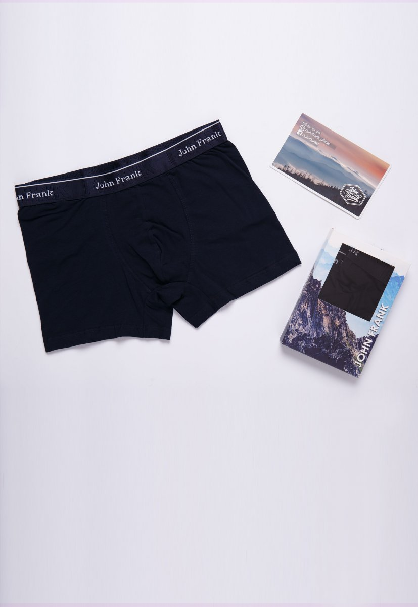 Трусы-шорты JOHN-FRANK JFBRS01 Темно-синий - Фото