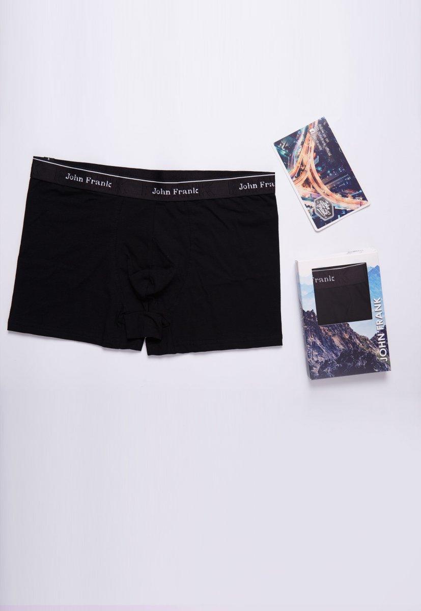 Трусы-шорты JOHN-FRANK JFBRS01 Черный - Фото 1