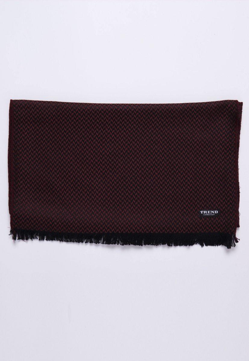Шарф Trend Collection STK-16 Черный+коричневый - Фото