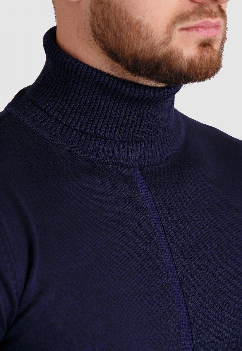Гольф Trend Collection 3530 Темно-синий - Фото