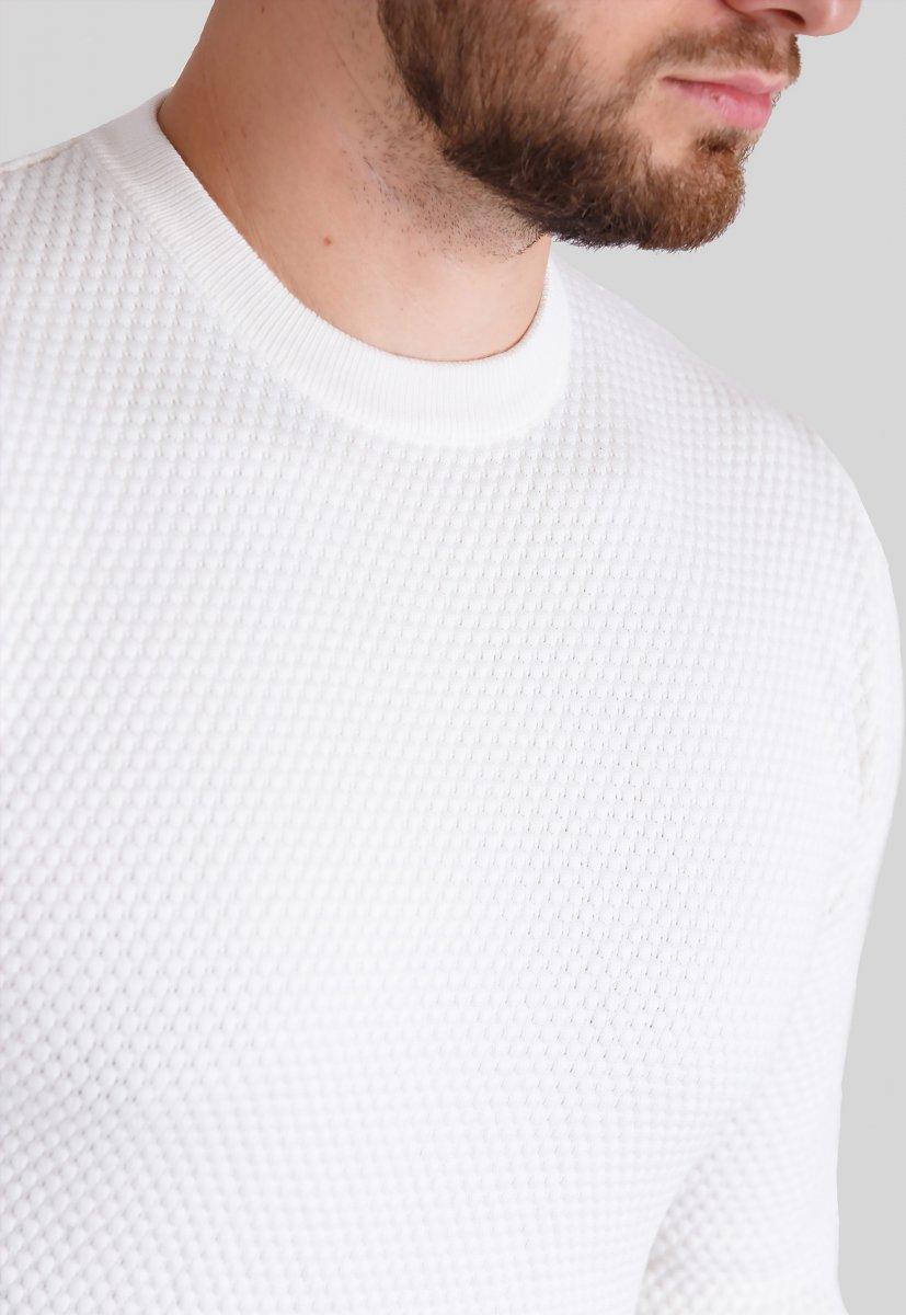 Свитер Trend Collection 5017 Белый - Фото
