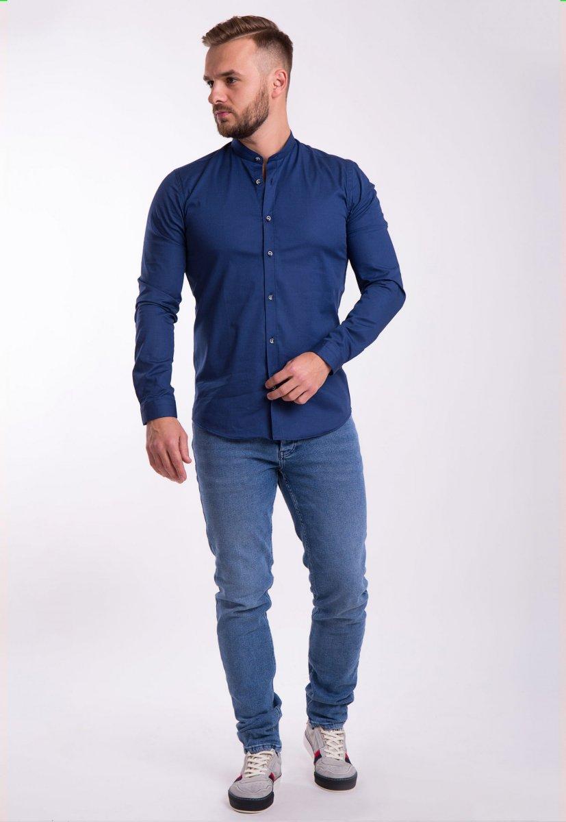 Рубашка Trend Collection U02-1047-20 Темно-синий - Фото