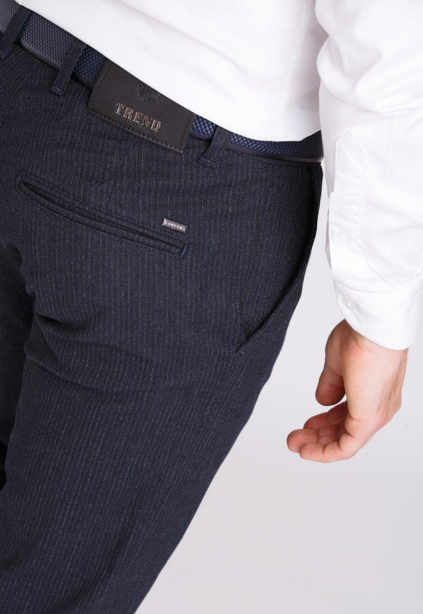 Брюки Trend Collection 12505 Темно-синий+полоска(LACI) - Фото