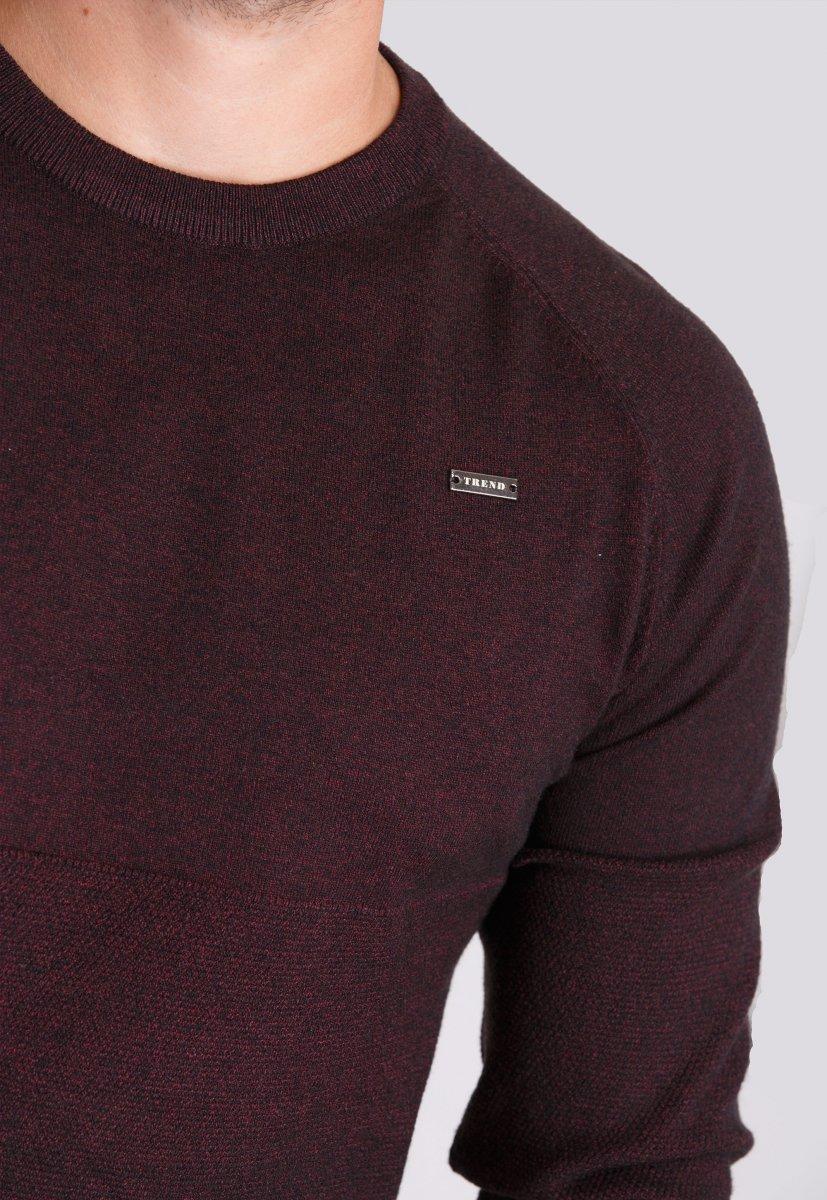 Свитер Trend Collection 98160 Бордо - Фото